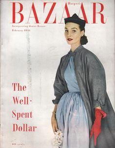 Harper's Bazaar February 1940 | Harpers bazaar and Bazaars