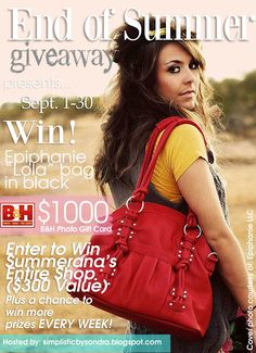 Simplistic by Sondra: End of Summer Giveaway