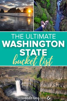 Everything you want to know about Washington State. Find the best hikes, explore national parks, ski the best slopes, chase beauiful waterfalls, and watch gorgeous sunsets. We have your whole Washington State Road Tr Washington Things To Do, Camping In Washington State, Western Washington, Tacoma Washington, Leavenworth Washington, Places To Go In Washington State, Fort Lewis Washington, Woodinville Washington, Bremerton Washington