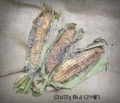 Primitive Corn Bowl Fillers by CrustyOldCrows on Etsy