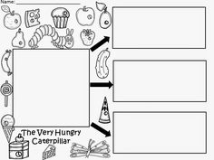 Free: The Very Hungry Caterpillar...writing 3 words or sentences.  Not for profit...for educational purposes only. Enjoy! Regina Davis aka Queen Chaos at Fairy Tales And Fiction By 2.