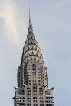 The Chrysler building . NYC
