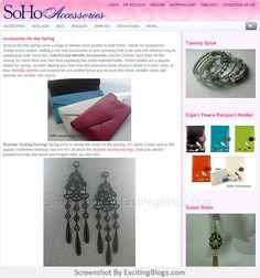 SoHo Accessories- A forum for discussing fashion accessories, trendy jewelry, and more! - Click to visit site:  http://1.33x.us/J6BeTs