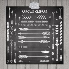 VECTOR Hand Drawn clipart arrows