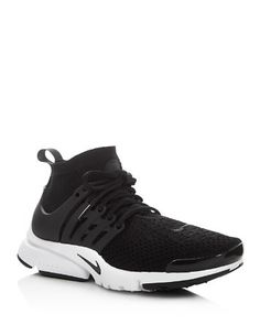 $Nike Air Presto Flyknit Lace Up Sneakers - Bloomingdale's