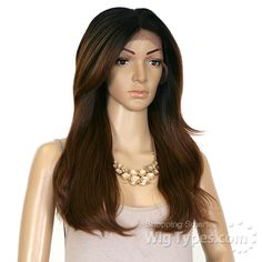 Zury Sis Slay Synthetic Hair Lace Front Wig - SLAY LACE H OLIVE - WigTypes.com