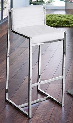 Cannes bar stool white