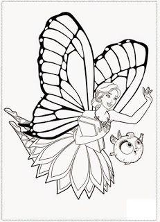 Desenhos A Barbie Mariposa E Suas Amigas Fadas Mariposas