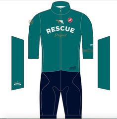 Cycling Jersey Cyclo Cross Rescue Project