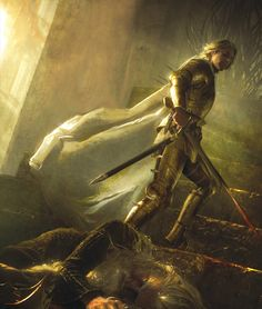 The Kingslayer Iron Throne, Jaime Lannister, Game Of Thrones Fans, Rpg, Throne Of Glass Series, Fire And Ice, Book Series, Songs, Paladin