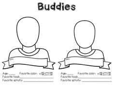 My class always partners up with an older grade to do buddies. Here is a little activity to do for their first meeting. They will work toget...