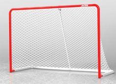 ACON Wave Hockey -maali on virallisen kokoinen jääkiekkomaali (183x122cm). Maalin runko on galvanoitua terästä (ei ruostetta) ja verkossa on UV-suojaus. Maali kestää kiekkotulitusta aina 120km/h asti! Tilaa omasi!