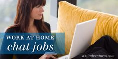 Work at Home Chat Jobs-Great article including our partner company #Arise Virtual Solutions!