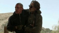 theo rossi and tommy flanagan | Chibs: Did you get him?