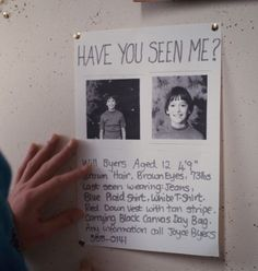 OMG my school actually made a bunch of missing posters for Will!  It was so awesome!