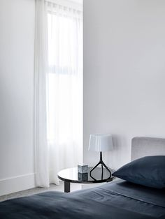 Hornsby Street is a minimalist interior located in Melbourne, Australia, designed by Conrad Architects Contemporary Interior Design, Bathroom Interior Design, Modern Design, Interior Design Singapore, The Design Files, Minimalist Interior, Unique Home Decor, Living Spaces, Living Room