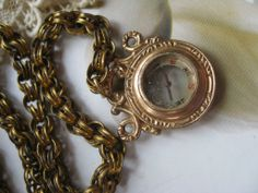 Victorian Watch Chain Compass Fob