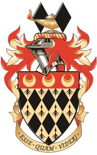 MORE ART DECO STYLE COAT OF ARMS. Royal Holloway's Coat of Arms
