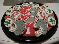 Ohio State Buckeyes platter 1 | Flickr - Photo Sharing!