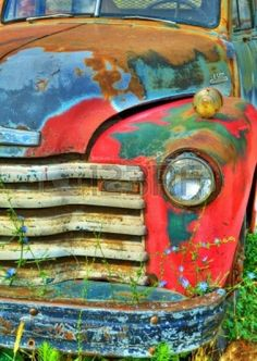 vintage rusty trucks - Google Search