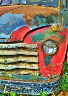 vintage rusty trucks - Google Search