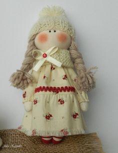 Tilda doll. Textile little doll. Doll by WorkshopTextileDolls