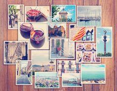 """Nonostante i """"selfie"""" e le foto digitali spopolino, un album o un collage di foto stampate resta una bella idea per un regalo alternativo, o un modo per incorniciare un.."""