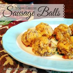 I've worked on my old sausage ball recipe and I think it's a success! If you love Sausage Balls, try this recipe. You won't even miss the baking mix! Yummy Cheesy Sausage Balls (low carb & grai...