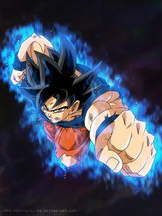 Goku - Migatte no Gokui by SenniN-GL-54.deviantart.com on @DeviantArt