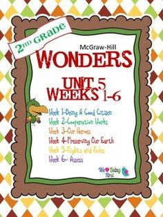 If you are already using or you are new to the Wonders Reading Program, this 285+ page bundle is for you. You'll have help with weekly lesson planning, printables for centers or word work activities, anchor charts, writing activities, high frequency word practice, an abundance of spelling activities, and much, much more.Check the table of contents below to see exactly what is included in the each packet.