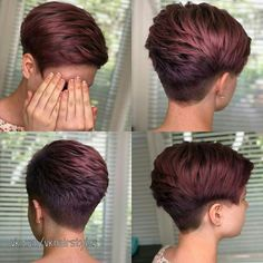 25 ideas for short pixie hairstyles for women frisuren frauen frisuren männer hair hair women Short Pixie Haircuts, Pixie Hairstyles, Short Hairstyles For Women, Hairstyles 2018, Red Pixie Haircut, Girl Haircuts, Everyday Hairstyles, Poxie Haircut, Pixie Haircut For Round Faces