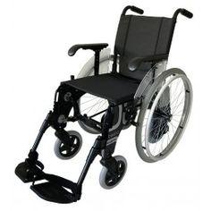 Silla de aluminio con ruedas interiores FORTA Basic Duo Azul. #Anciano #antiescaras. #Silladeruedas #movilidad #accesibilidad #escaras #terceraedad #mayores #discapacidad #ortopedia #ortopediaplus #Wheelchair