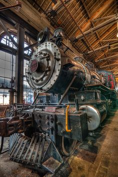 B&O Train Museum, Baltimore, Maryland