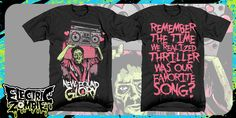 """""""new found glory - Thrilling Song"""" t-shirt design by Kyle Crawford"""