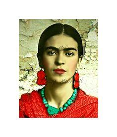 Frida Kahlo Modern Home Wall Decor Instant Digital Download