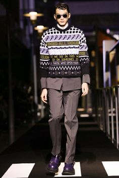 Kenzo Menswear Fall Winter 2014 Paris - NOWFASHION