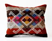 Treasury Tuesday: Purple Beauties: Hand Woven Kilim Pillow Cover