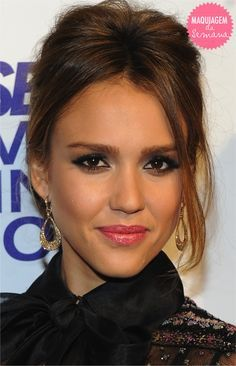 jessica alba make up - Cerca con Google