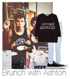"""Brunch With Ashton"" by hazzgirl03 ❤ liked on Polyvore"
