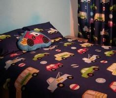 cars and trucks bedding - Google Search