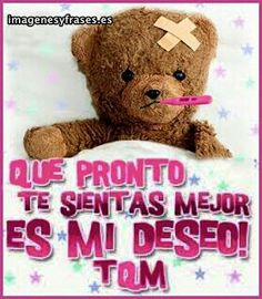 Enfermedad Hug Quotes, Wife Quotes, Real Life Quotes, Mafalda Quotes, Spanish Greetings, Get Well Wishes, Happy Wishes, Cute Poster, Belated Birthday
