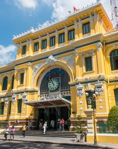 Central Post Office, Ho Chi Minh City (Saigon), Vietnam | Click on the photo to see more and read about our visit!