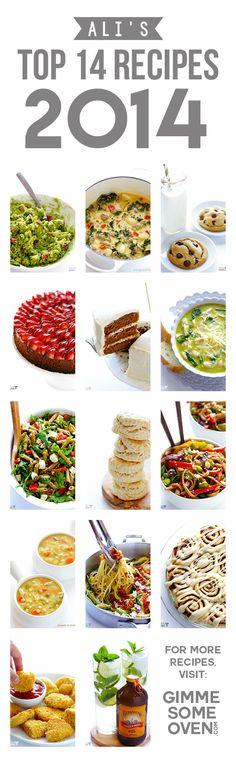 Ali's Favorite 14 Recipes of 2014   gimmesomeoven.com