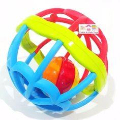 ขอแนะนำ  Todds & Kids Toys ของเล่นเสริมพัฒนาการบอลนิ่ม ยางกัดลูกบอลแสนนิ่ม BPA Free Baby Soft Ball  ราคาเพียง  249 บาท  เท่านั้น คุณสมบัติ มีดังนี้ เขย่ามีเสียงกรุ้งกริ๊ง ขนาดใหญ่ นิ่ม จับถนัดมือน้องๆ เสริมสร้างพัฒนาการด้านการมองเห็นและการฟัง ฝึกกล้ามเนื้อมืดมัดเล็กๆ พร้อมกันทั้ง 2 ข้างได้อย่างดี วัสดุเป็น&FoodGrade และ BPA Free