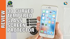 Kyasi 3D Curved Tempered Glass Screen Protector Review - iPhone 6s & iPh...