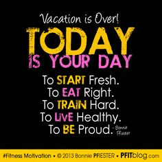 Vacation is Over! 5 Tips to Get Your Fitness Back