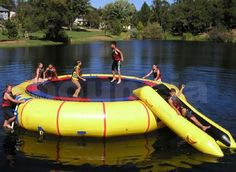 Water Trampoline I would love to own one before I die