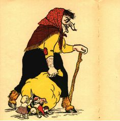 Grýla... Fantastic Icelandic Folklore!! Gryla comes at Christmas and will take the children who do not have a new item of clothing, cook them in her cauldron and eat them!  Along with Leppaluði, the Christmas Cat and the Yule Lads!