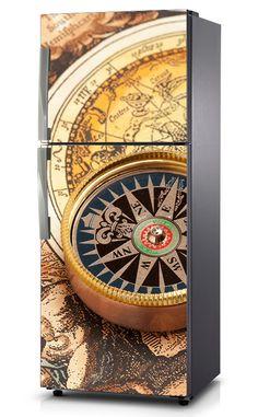 Naklejka na lodówkę - Kompas