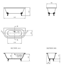 Admiral 1685 Back To Wall Roll Top Bath | At Victorian Plumbing.co.uk Simple Furniture, Furniture Layout, Cheap Furniture, Furniture Plans, Back To Wall Bath, Cheap Stores, Fiberglass Resin, Roll Top Bath, Standing Bath